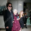 Tim Burton, Elena Bonham Carter and Rose Bonham Carter attend the 'Harry Potter and the Half-Blood Prince' Film premiere, London, Britain - 07 July 2009 - 344 x 550