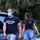 Ben Affleck and Ana de Armas – Leaving kids at ex Jennifer Garner's home in Brentwood