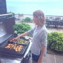 Taylor Swift cooking (Calvin Harris instagram)