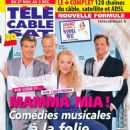 , Stellan Skarsgård, Meryl Streep, Colin Firth - Télé Cable Satellite Magazine Cover [France] (27 November 2010)