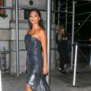 Nicole Scherzinger – Arrives at Harper's Bazaar ICONS Party in New York