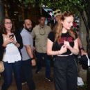 Sophie Turner hit the streets of Vila Madalena in Sao Paulo - 454 x 303
