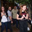 Sophie Turner hit the streets of Vila Madalena in Sao Paulo