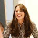 Catherine, Duchess of Cambridge visits the Anna Freud Centre on (September 17, 2015)
