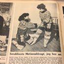 Elizabeth Taylor - Billed Bladet Magazine Pictorial [Denmark] (20 October 1953) - 454 x 503