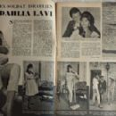 Daliah Lavi - Festival Magazine Pictorial [France] (27 September 1960) - 454 x 294
