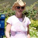Britney Spears At Brents In Westlake Village