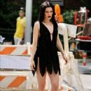 Jessie J — On the set of a photoshoot in New York City — August 5, 2014