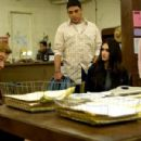 L to R: Jack Bishop (Simon Baker), Casper Navarro (Michael DeLorenzo), Amaya (Paz Vega) and Lourdes (Trina E. Siopy) in Not Forgotten.