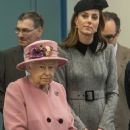 Queen Elizabeth II And The Duchess Of Cambridge Visit King's College London (March 19, 2019) - 369 x 600