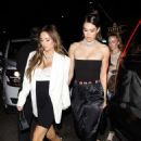 Amelia Hamlin – Arriving at Beauty & Essex in Hollywood