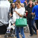 Arielle Kebbel Street Style – Shopping at The Grove in LA 11/19/ 2016 - 454 x 625