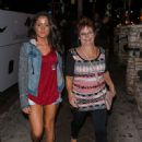 Jenelle Evans leaving the Saddle Ranch Restaurant in West Hollywood Saturday August 29,2015 - 450 x 600