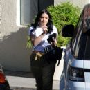 Ariel Winter in Yellow Pants – Out in Los Angeles - 454 x 627