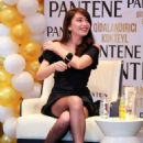 Neslihan Atagul at Promotional Event Of Pantene Turkey in Baku - 454 x 568