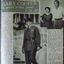 Gary Cooper - Cine Revue Magazine Pictorial [France] (4 November 1955) - 454 x 622
