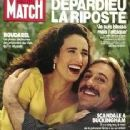 Gérard Depardieu - Paris Match Magazine [France] (4 April 1991)