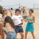 Chloe Bennet in Bikini on 'Valley Girl' set in LA