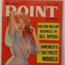 June Blair - Male Point Magazine Cover [United States] (May 1956)