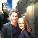 Tristan MacManus and Nancy Grace