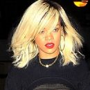 Rihanna's Sheer, Sexy Da Silvano Big Apple Dinner