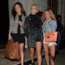 Pixie Lott Leaving The Sketch Restaurant In London
