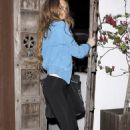 Lindsay Lohan - At Chateau Marmont In West Hollywood, California, 2009-05-07