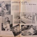 Estella Blain - Cinemonde Magazine Pictorial [France] (6 November 1958) - 454 x 340