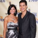 Mario Lopez and Courtney Laine Mazza