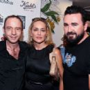 Sharon Stone makes a few remarks at the 3rd Annual Kiehl's Since 1851 LifeRide For amfAR at Kiehl's Since 1851 Georgetown on July 20, 2012 in Washington, DC