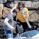 "Sandra Bullock - Filming A Scene For Her Upcoming Movie ""The Proposal"" In Boston, 15.04.2008."