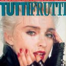 Madonna - Tutti Frutti Magazine Cover [Italy] (October 1987)