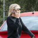 Sofia Richie – Pick up food to go at Kristy's restaurant in Malibu