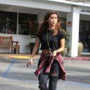 Brenda Song – Seen outside SHU Sushi House in LA - 454 x 577