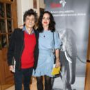 Ronnie Wood attends the Tusk rhino auction at Christie's on October 9, 2018 in London, England - 400 x 600