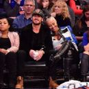 Amber Rose and Val Chmerkovksiy at The Knicks Game at Madison Square Garden in New York City - January 16, 2017  - December 9, 2016 - 454 x 494