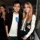Douglas Booth attends the Soho Revue Launch Party at 14 Greek Street on April 14, 2015 in London, England