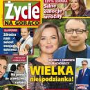 Monika Richardson and Zbigniew Zamachowski - Zycie na goraco Magazine Cover [Poland] (13 June 2019)