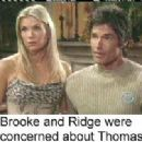 Katherine Kelly Lang and Ronn Moss