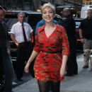 Cozi Zuehlsdorff – Arrives at Good Morning America in NYC - 454 x 751