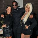 Diddy and Misa Hylton
