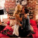 Candice Accola and Reid Ewing