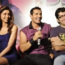 Desi boyz music launch 2011- Deepika With John & Akshay