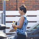 Frankie Bridge spotted in London - 454 x 545