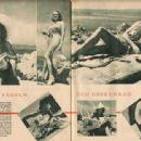 Marlene Dietrich - Filmjournalen Magazine Pictorial [Sweden] (30 June 1939) - 454 x 313
