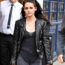Kristin Stewart Out in Paris