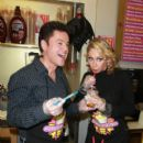 Donny Osmond and Kym Johnson at Millions of Milkshakes