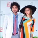 Adrian Grenier and Isabel Lucas
