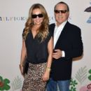 Thalia and Tommy Mottola- Tommy Hilfiger Women's - Backstage - Spring 2016 New York Fashion Week: The Shows - 399 x 600
