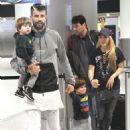 Shakira With Her Family at the Airport in Miami 12/19/ 2016 - 454 x 661